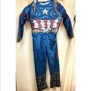 Captain America Costume 2T